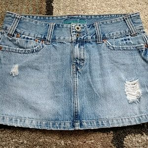 American Eagle denim skirt size 10